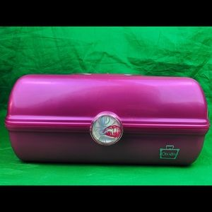 Caboodles Pink Cosmetic Organizer Train Case